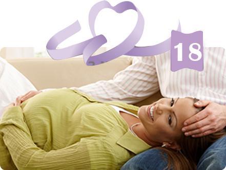 אשה בהריון